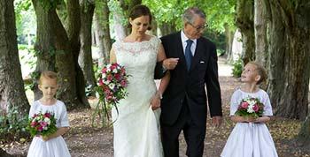 Bryllup. Fuglsang Herregaard.