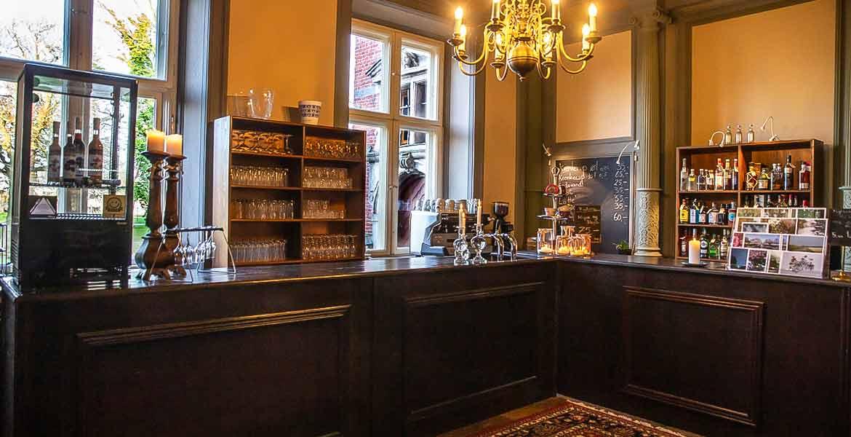 Fuglsang. Café.